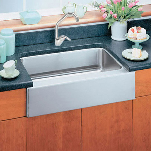 Composite Apron Sink : ... apron front farm sink. Also available in a double bowl model